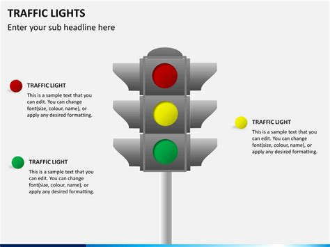 traffic light template traffic lights traffic signs powerpoint template
