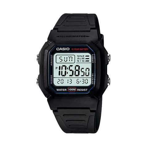 Jam Tangan Samsung Rubber 1 jual casio digital rubber jam tangan pria black w