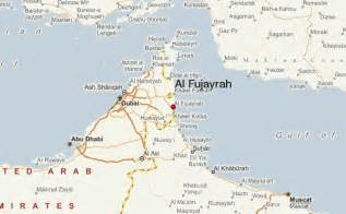 map picture fujairah location guide