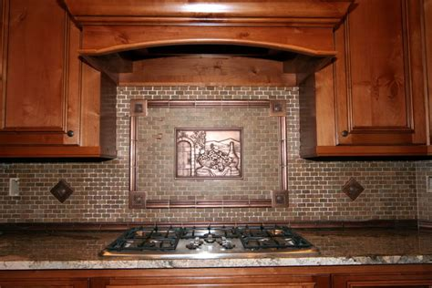 copper backsplash for kitchen kitchenbacksplash 183 kitchen decor with copper tuscan
