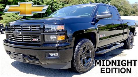midnight edition silverado   lt review