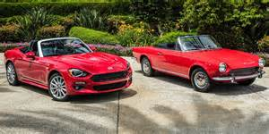 Spider 124 Fiat 2017 Fiat 124 Spider Review