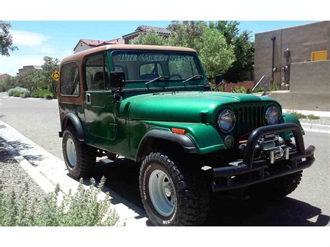 jeep for 1977 jeep cj7 for sale classiccars com cc 994678
