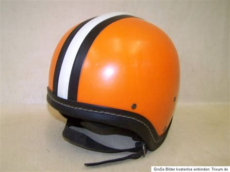 Motorradhelm Ddr by Ddr Helm Orange Gr 58 Motorradhelm Simson Schwalbe Kr50