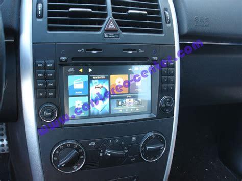 Mba Audio Custom Peterborough On by Navigatore Custom Fit Dynavin Per Mercedes Classe B