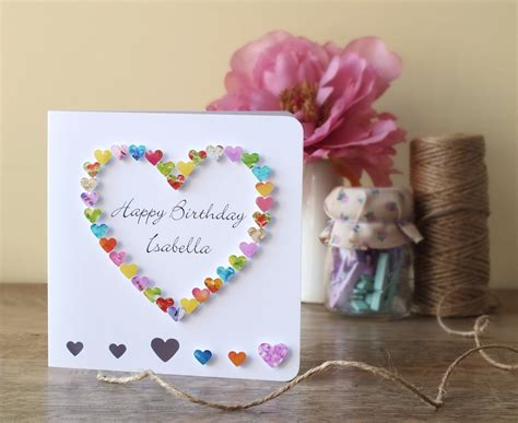 Handmade Birthday Cards For - handmade birthday card for from infocard co