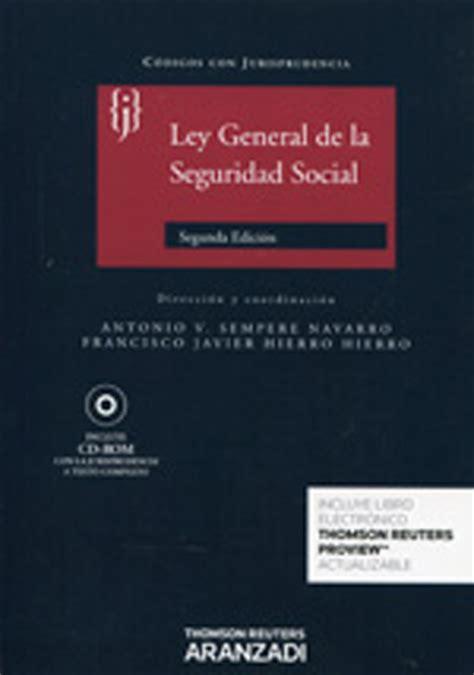 ley general de la seguridad social pdfswkees librer 237 a dykinson ley general de la seguridad social