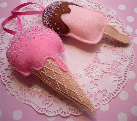 diy iron on ice cream tutorial by sweet threads clothing felt ice cream and ice lolly set ahhhh british