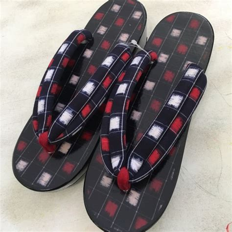 traditional japanese sandals geta set traditional japanese sandals brand new 7 from