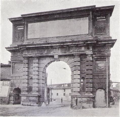 porta romana l 1898 porta romana l arco 1596 urbanfile