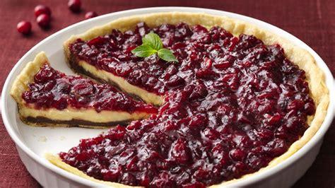 black bottom cranberry cream pie recipe from pillsbury com