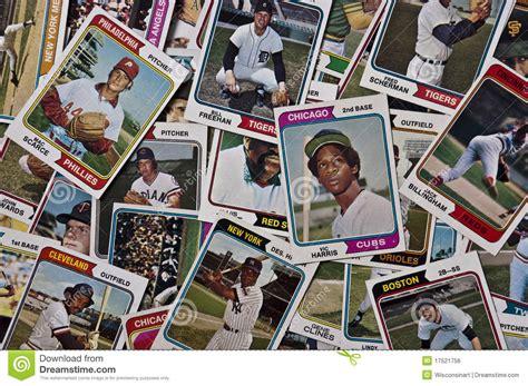 Mlb Com Gift Card - old mlb baseballs cards vintage sports memorabilia editorial photo image 17521756