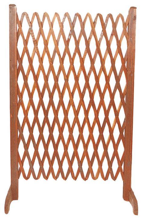 steccati per giardini set 2 steccati grigliati estensibili in legno per