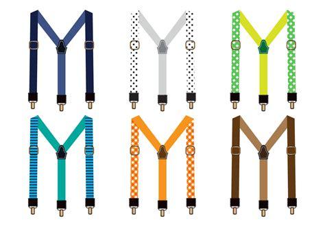 vector clip free suspenders vector free vector stock