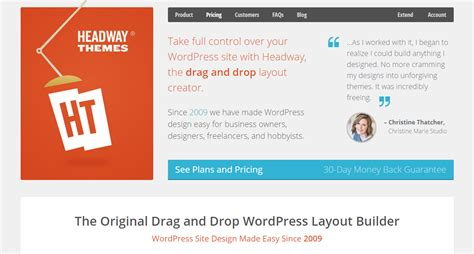 Headway Themes Article Builder | headway wordpress theme download review 2018