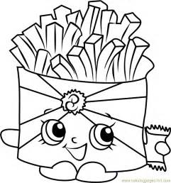 wise fry shopkins coloring free shopkins coloring pages coloringpages101