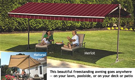 Sunsetter Oasis Freestanding Awning by Freestanding Oasis Awning Sunsetter Awnings By Lanier