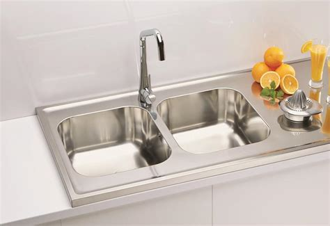 sit on kitchen sink 1400mm lay on sit on kitchen sink deep double bowls