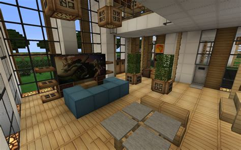 minecraft modern living room modern house series 1 minecraft project