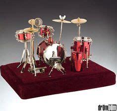 Miniatur Set Alat Band schlagzeug dekorativ papiermodelle musikinstrument