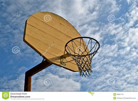 How To Make A Basketball Net Out Of Paper - wood basketball backboard royalty free stock image image