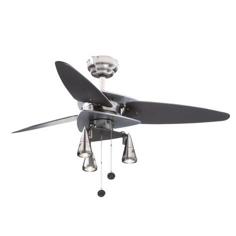 Westinghouse Light Ceiling Fan Icon Westinghouse Vector Elite 42 In Brushed Nickel And