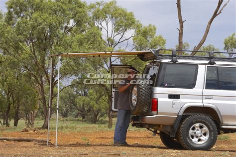 arb awning arb 1250x2100mm awning for vw amarok roof rack
