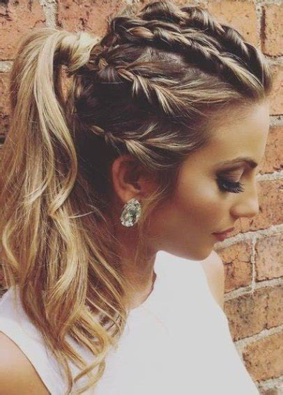 ponytail braid hairstyles 15 braid ponytails