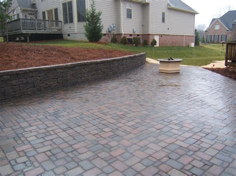 Paver Patio Design by Landscape Design