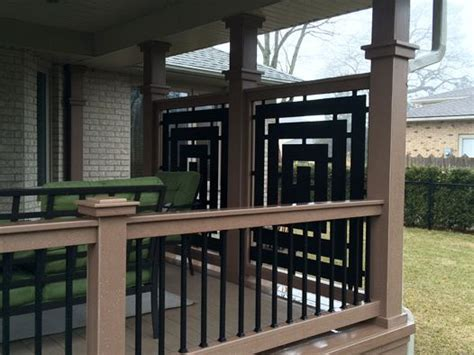 Deck Screen Wall - 25 best ideas about balcony privacy screen on