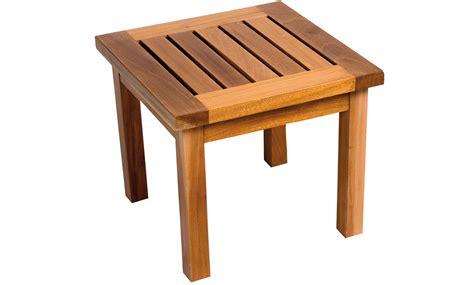 table basse exterieur 65 table basse acajou mobilier de jardin meuble design