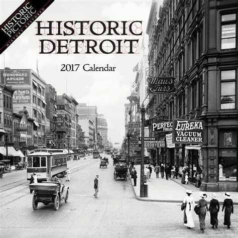Calendario De Detroit Hist 243 Calendario De Pared Detroit 752 64 En