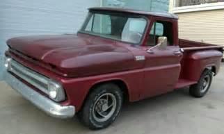 1965 Chevy Truck Custom Wheels Well Preserved 1965 Chevrolet Custom Only Few