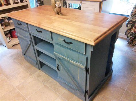 homemade kitchen island ana white farmhouse kitchen island diy projects