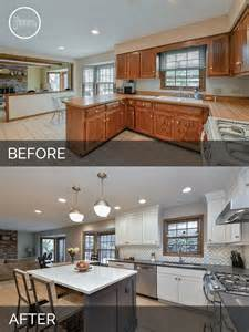 Best Kitchen Remodel Ideas Justin Amp Carina S Kitchen Before Amp After Pictures Home