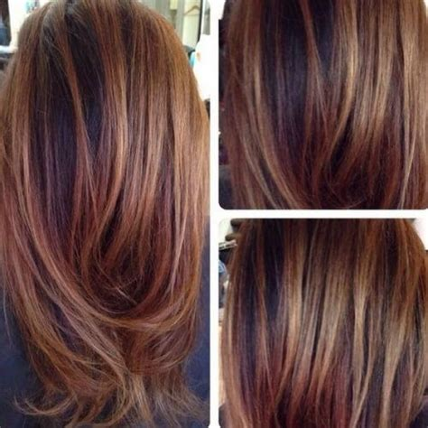pictures of chestnut brown hair color with highlights and lowlights on african american hair black hair chestnut highlights chestnut ombre
