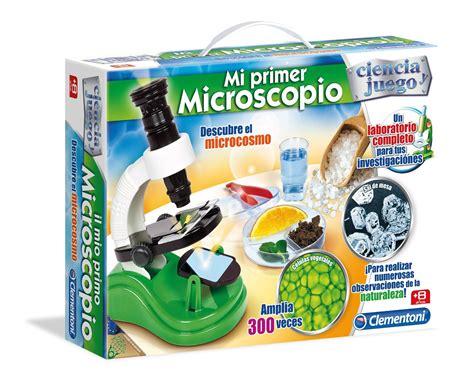 mi primer larousse mi microscopio ciencia y juego clementoni 55079 1001juguetes