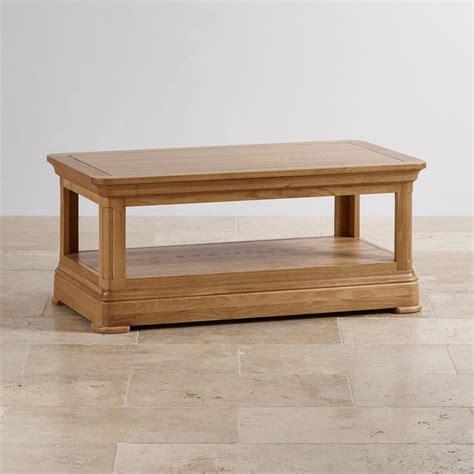 Canterbury Coffee Table Natural Solid Oak Oak Canterbury Coffee Table