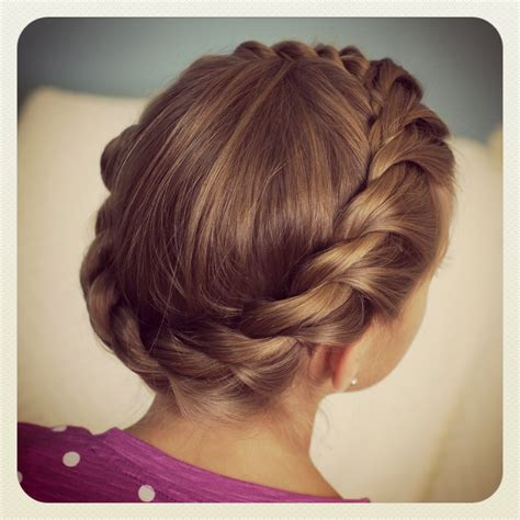 crown hairstyles crown rope twist braid updo hairstyles