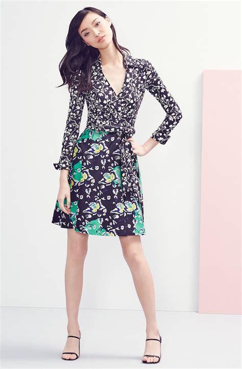 Outlet Alert Diane Furstenberg Graphic Patterned Dress by It S A Wrap Diane Furstenberg 2015 Lookbook By