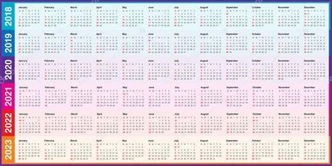 vecteur de calendrier de lannee