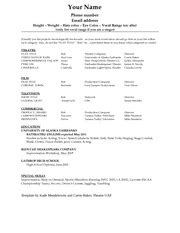 Resume Template Of South Carolina Executive Resume Sle For Sales Vp Chris Smith 45 San Ramon