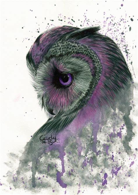 Owl Purple purple owl by r deviantart on deviantart owls