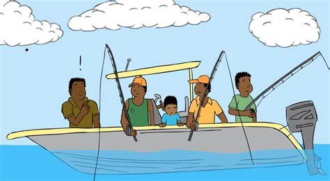 boat trip cartoon animated fishing boat www pixshark images