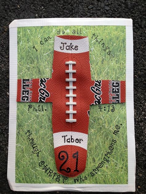 Football Locker Decorations by Football Cross Locker Decorations Football