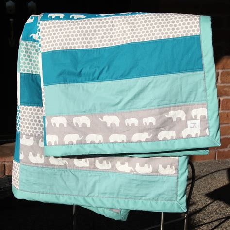 Diy Quilt by Oh That Annelie Diy Project Elephants Dots Baby Quilt