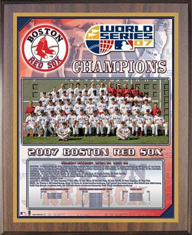 red sox world series champions healy plaque