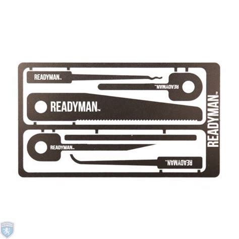 survival credit card readymade hostage escape survival credit card tool
