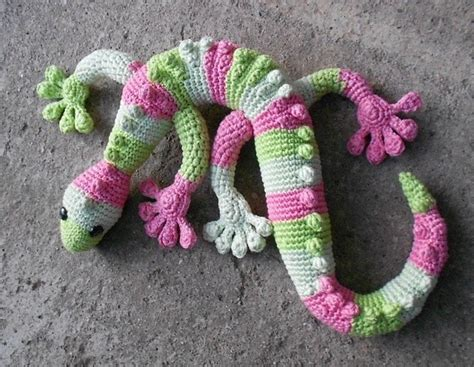 you have to see http www ravelry com patterns library crochet gecko love lucie