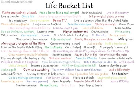 biography stories list life bucket list updated tales of beauty for ashes